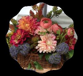 Basket on door featured