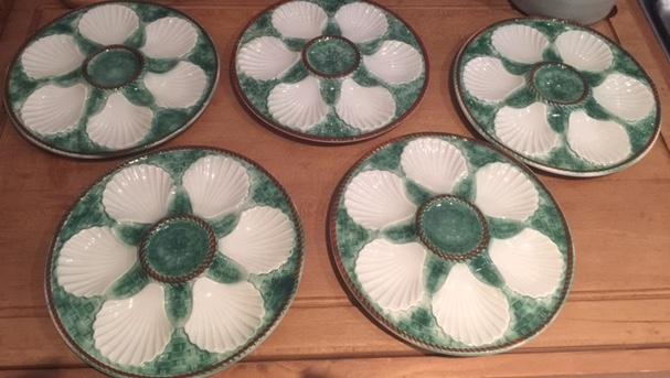 longch& oyster plates & longchamp oyster plates u2013 Gina Diamondu0027s Flower Co.