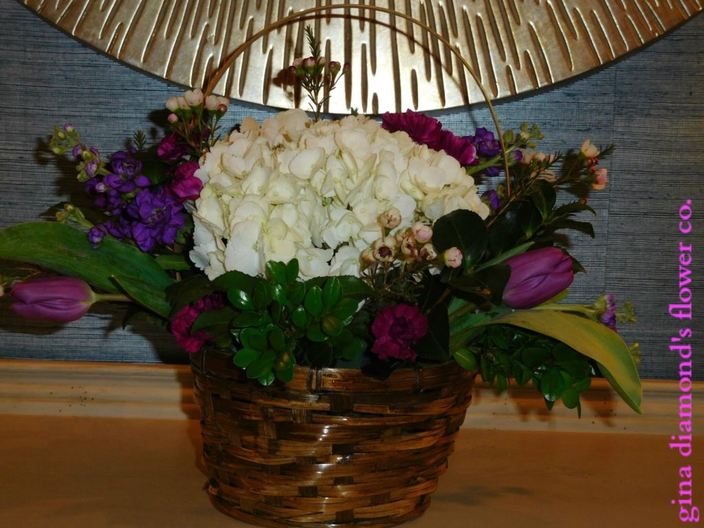 Fine Easter Basket Centerpiece Tutorial Gina Diamonds Flower Co Download Free Architecture Designs Estepponolmadebymaigaardcom